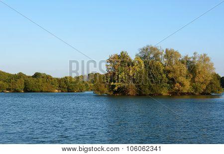 Barden Lake At Haysden Country Park, Tonbridge