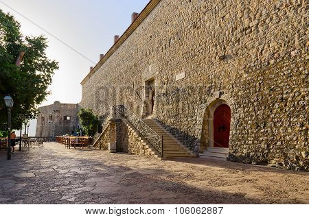 Citadel In The Old Town Of Budva, Montenegro
