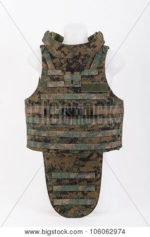 Camouflage Bulletproof vest body armor covers for hunting