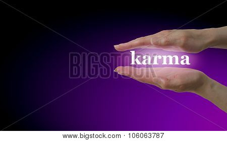 Your Karma is in Your Hands