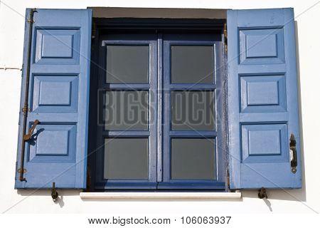 Blue Window , Santorini , Greece