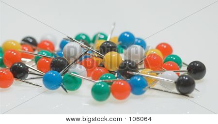 Multicolourd Pins