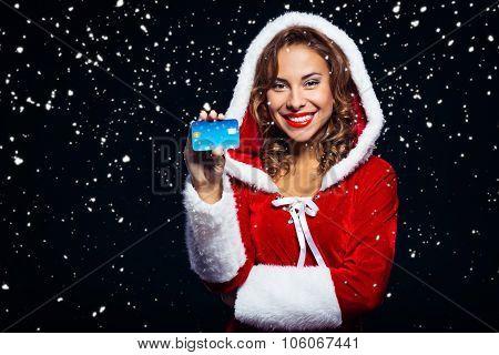 Concept for sexy santa girl