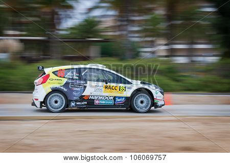 WRC Salou , Spain