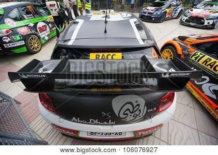WRC Car, from the 51th Rally Racc in Salou, Spain