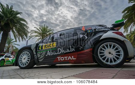 WRC Car , from Rally Racc in Salou, Spain