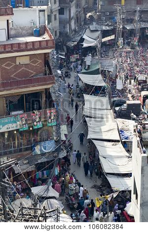 The Bazar From Above