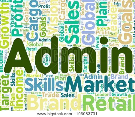 Admin Word Means Government Handling And Governing