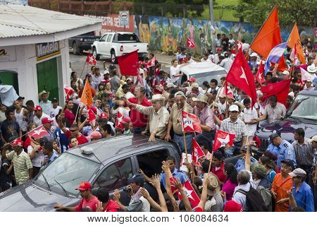 Political Campaign Rally Of The Opposition In Nicaragua
