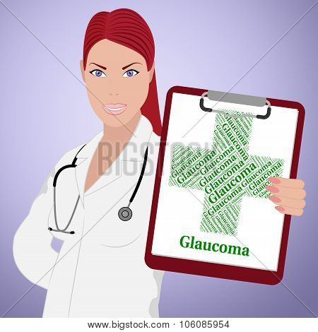 Glaucoma Word Means Eye Disorder And Ailments