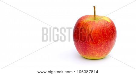 A Yellow Red Apple