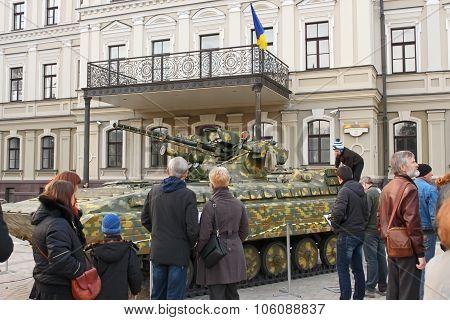 Exhibition Of Military Equipment In Kyiv, Ukraine
