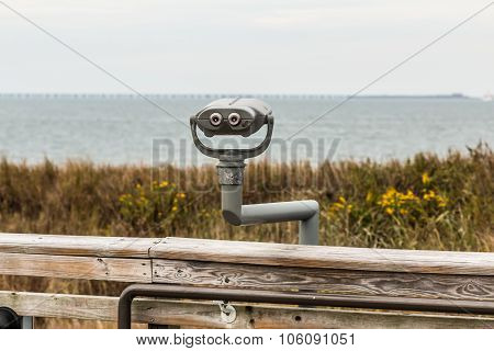 Sightseeing Binoculars at Beach