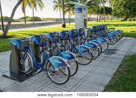Miami Beach Citi Bike Station