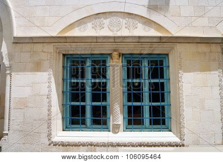 Window Abuhav Synagogue In Safed