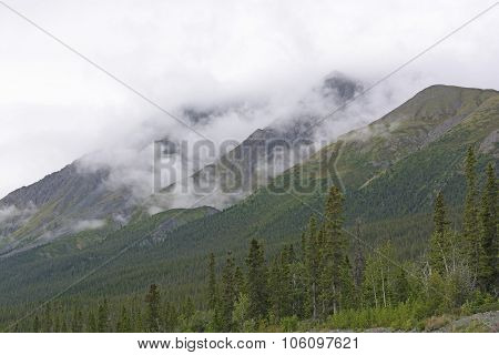 Fog And Clouds In The Mountains
