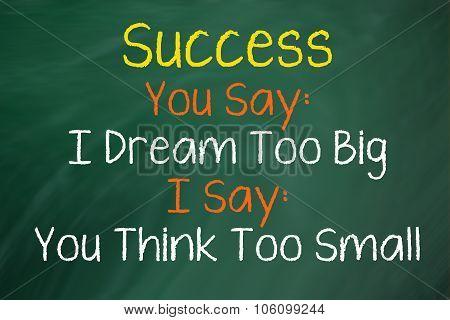 Success You Say...