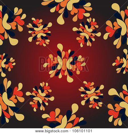 Flowers Abstract Pattern