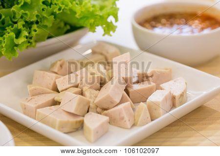 Vietnamese Steamed Pork, Vietnamese Food