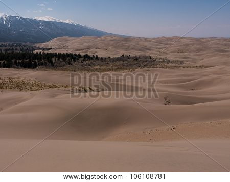 Landcape Photo Of Great Sand Dunes National Park