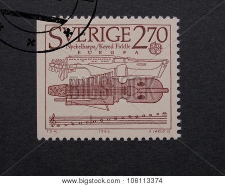 Sweden Mail Stamp