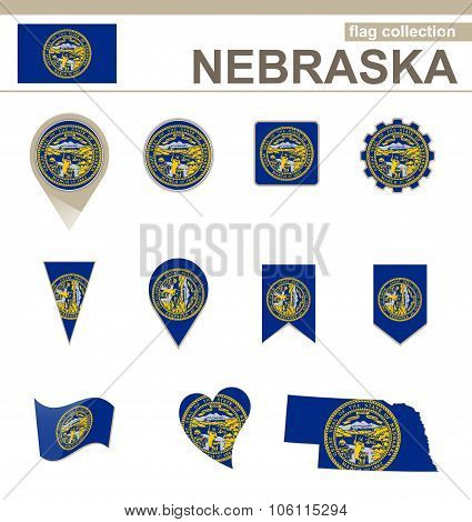 Nebraska Flag Collection