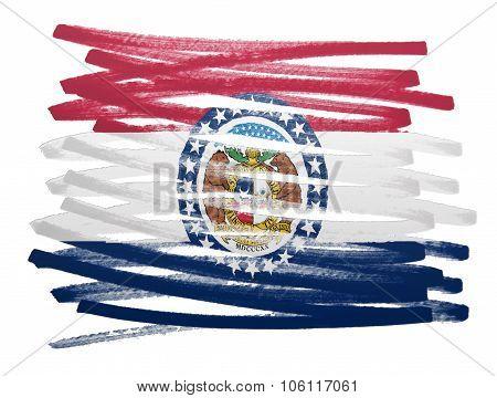 Flag Illustration - Missouri