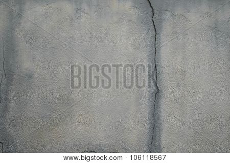 Concrete texture with cracked line