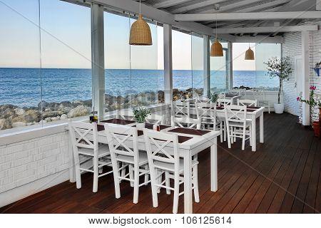 Sea View Restaurant Summer Pavilion Interior