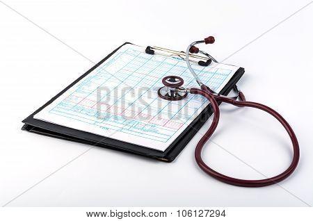 Patient Questionnaire And Headphones.
