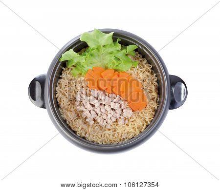 Thai Noodle Menu Isolated