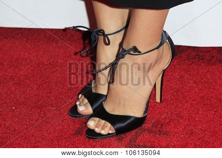 LOS ANGELES - OCT 24:  Ahna O'Reilly (shoe detail) at the