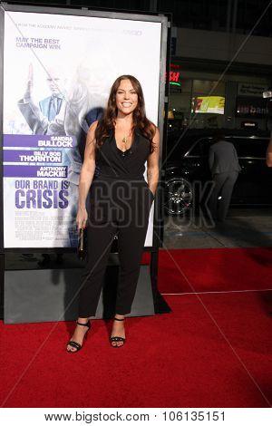 LOS ANGELES - OCT 26:  Agnes Bruckner at the