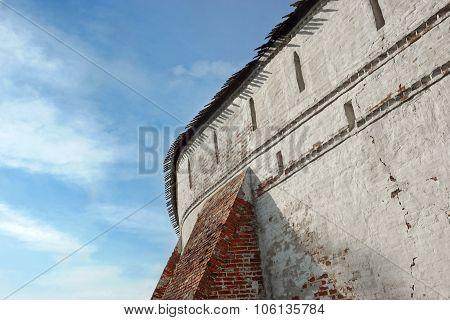 Ancient Monastery Wall