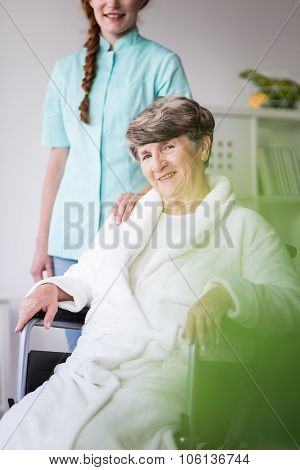 Woman Having Private Home Care