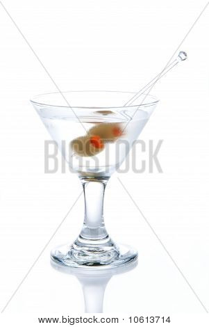 Classic Martini With Olives