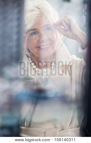 Beauty Senior Woman