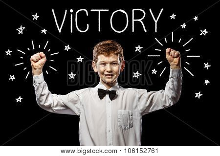 Victory Red-haired Boy