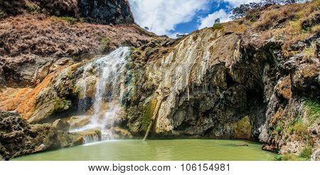 Hot Springs - Mt.rinjani Volcano, Lombok,indonesia
