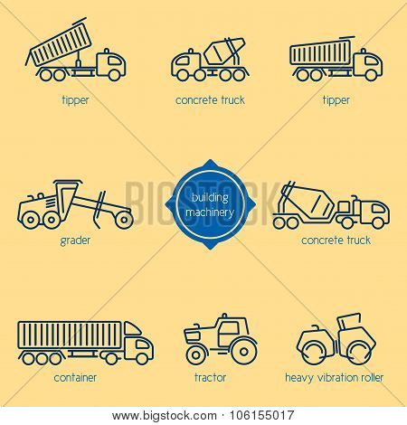 Construction Crew, Building Vehicles