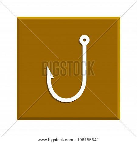 Hook Icon. Vector