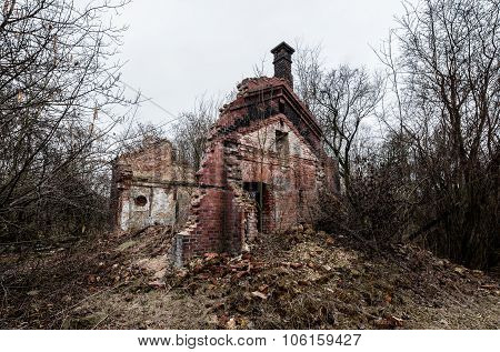 Demolished Brick House