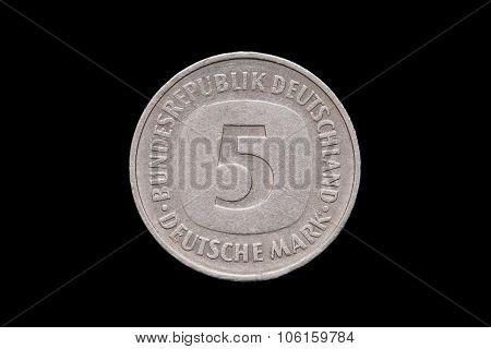 Five German Mark