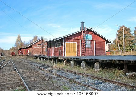 Porvoo. Finland. The Old Railway Station