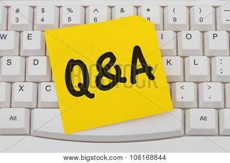 Getting Q&a Online