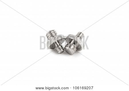 Photo Equipment Screw Adapter Isolated On White