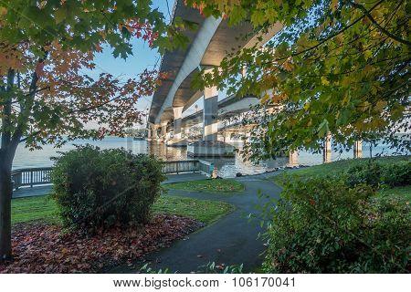 Seattle Bridge Landscape