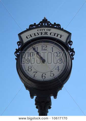 City Of Culver City Clock
