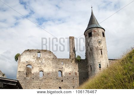 Medieval Haapsalu Episcopal Castle, Estonia