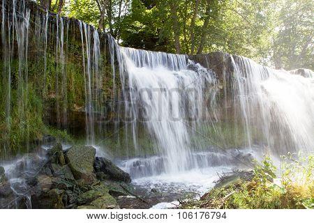 Waterfall In Keila-joa. Estonia